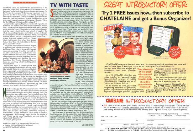 Article Preview: TV WITH TASTE, August 1998 | Maclean's