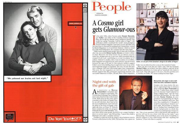Article Preview: People, August 1998 | Maclean's