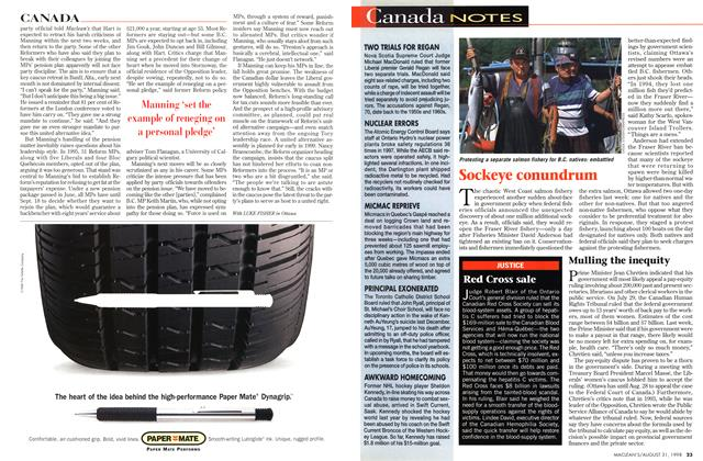 Article Preview: Canada NOTES, August 1998 | Maclean's