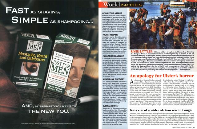 Article Preview: World NOTES, August 1998 | Maclean's