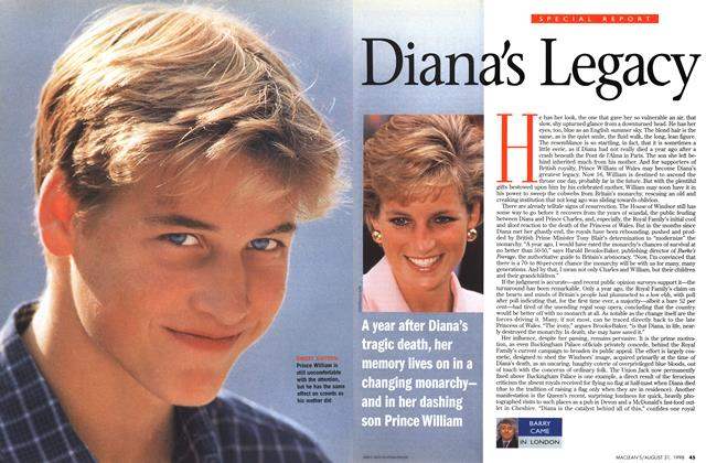 Article Preview: Diana's Legacy, August 1998 | Maclean's