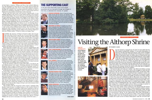 Article Preview: Visiting the Althorp Shrine, August 1998 | Maclean's
