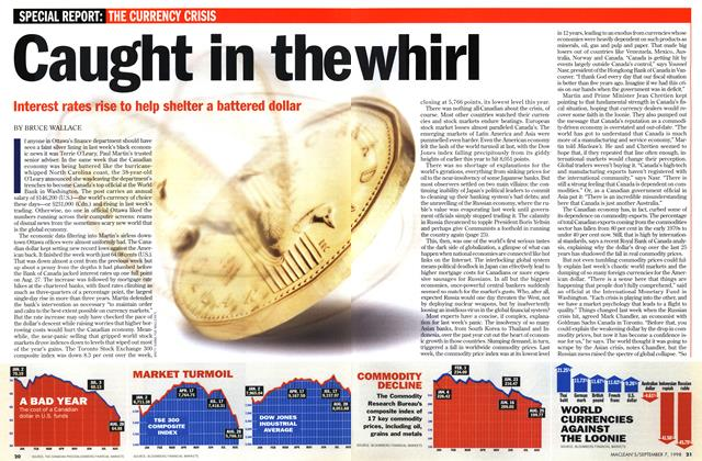 Article Preview: Caught in the whirl, September 1998 | Maclean's