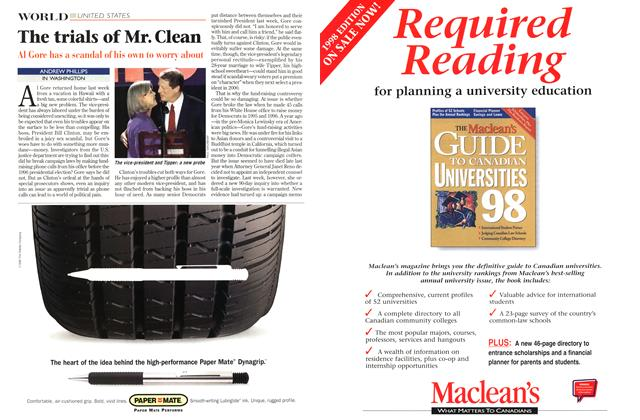 Article Preview: The trials of Mr. Clean, September 1998 | Maclean's