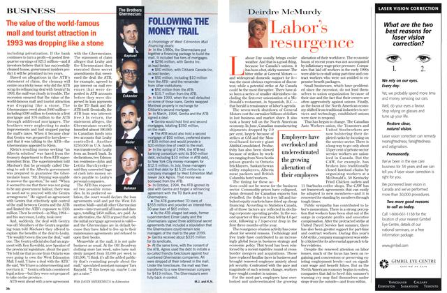 Article Preview: Labor's resurgence, September 1998 | Maclean's