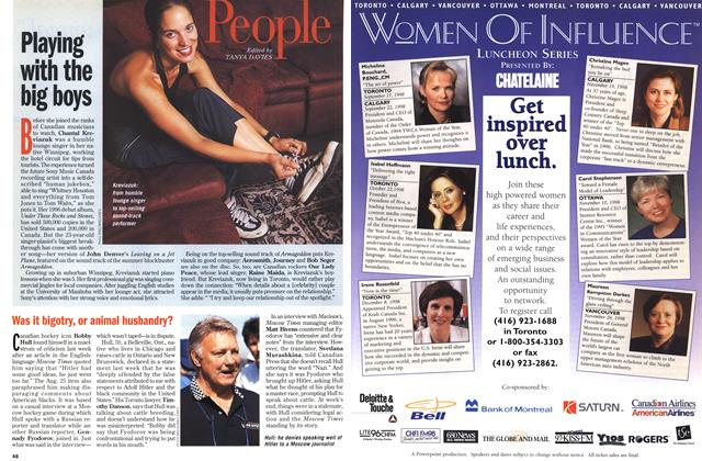 Article Preview: People, September 1998 | Maclean's