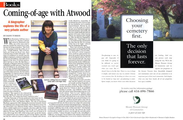 Article Preview: Coming-of-age with Atwood, September 1998 | Maclean's
