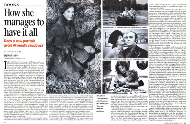 Article Preview: How she manages to have it all, September 1998 | Maclean's