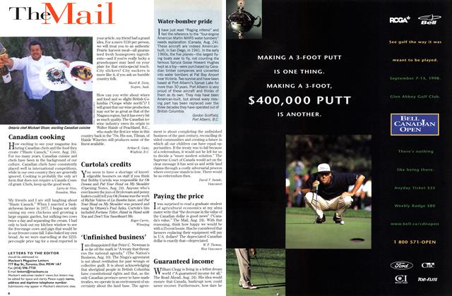 Article Preview: The Mail, September 1998 | Maclean's