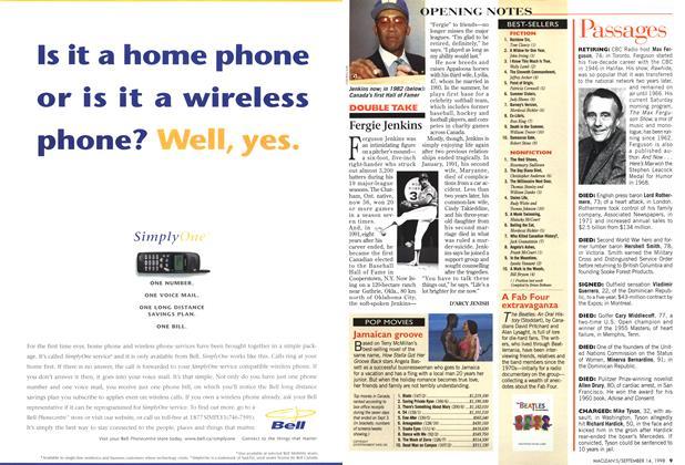 Article Preview: BEST-SELLERS, September 1998   Maclean's