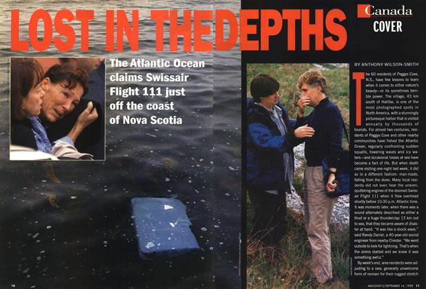 Article Preview: LOST IN THE DEPTHS, September 1998 | Maclean's