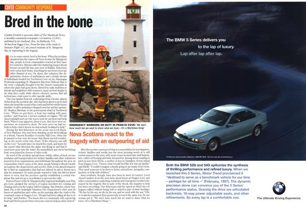 Article Preview: Bred in the bone, September 1998 | Maclean's