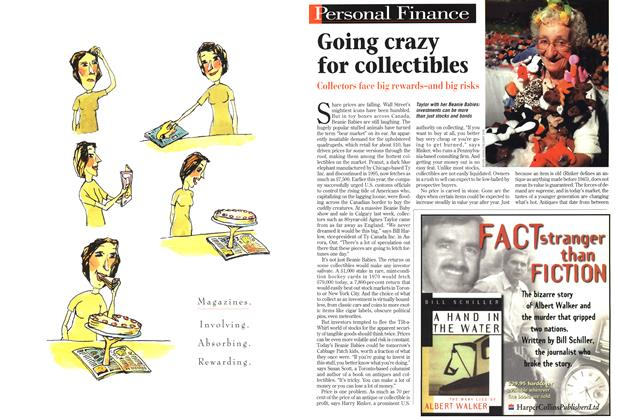 Article Preview: Going crazy for collectibles, September 1998 | Maclean's