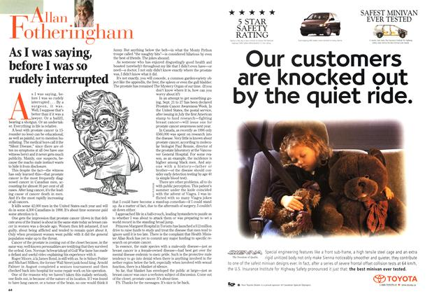 Article Preview: As I was saying, before I was so rudely interrupted, September 1998   Maclean's