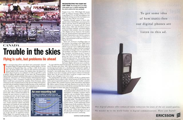 Article Preview: Trouble in the skies, September 1998 | Maclean's