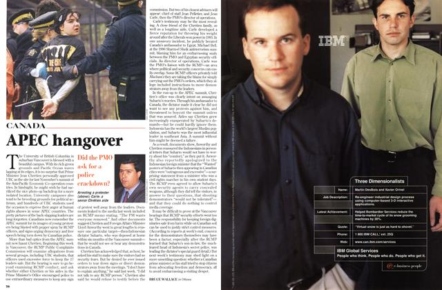 Article Preview: APEC hangover, September 1998 | Maclean's