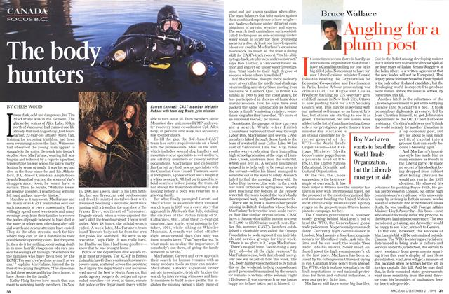 Article Preview: Angling for a plum post, September 1998 | Maclean's