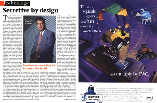 Article Preview: Secretive by design, September 1998 | Maclean's