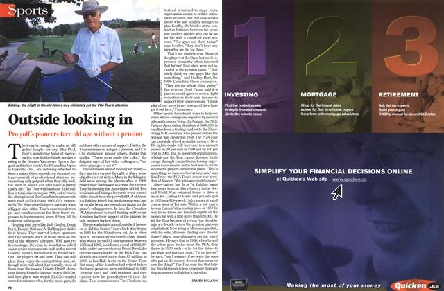 Article Preview: Outside looking in, September 1998 | Maclean's