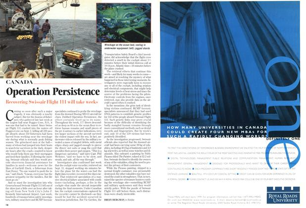 Article Preview: Operation Persistence, September 1998 | Maclean's