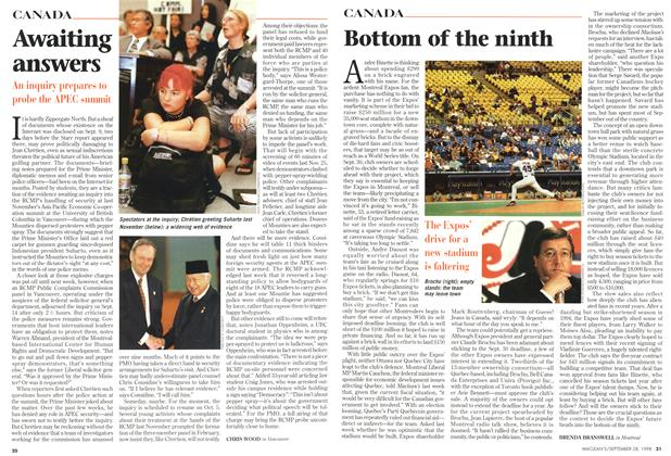 Article Preview: Bottom of the ninth, September 1998 | Maclean's