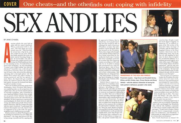 Article Preview: SEX AND LIES, September 1998 | Maclean's