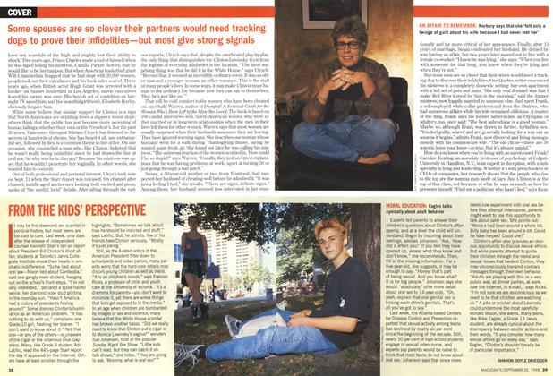 Article Preview: FROM THE KIDS' PERSPECTIVE, September 1998 | Maclean's