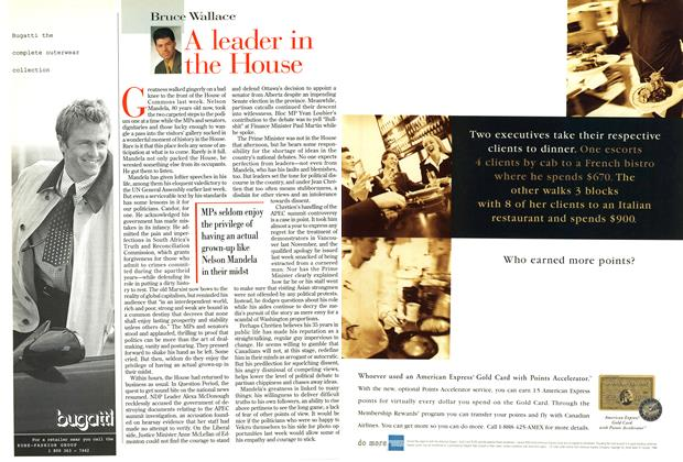 Article Preview: A leader in the House, October 1998 | Maclean's
