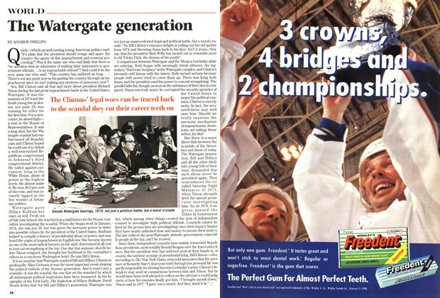 Article Preview: The Watergate generation, October 1998 | Maclean's