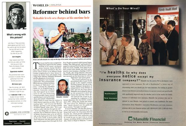 Article Preview: Reformer behind bars, October 1998 | Maclean's