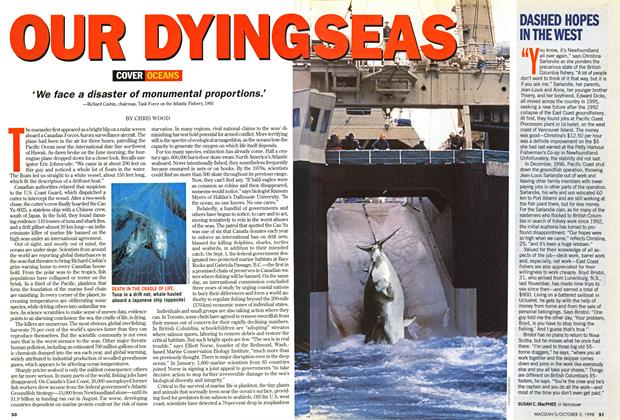 Article Preview: OUR DYING SEAS, October 1998 | Maclean's