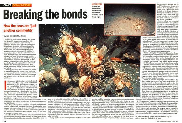 Article Preview: Breaking the bonds, October 1998 | Maclean's