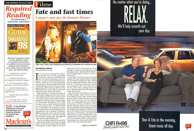 Article Preview: Fate and fast times, October 1998 | Maclean's