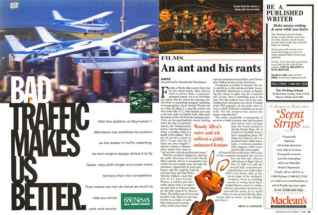 Article Preview: An ant and his rants, October 1998 | Maclean's