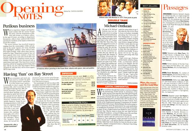 Article Preview: Opening NOTES, October 1998 | Maclean's