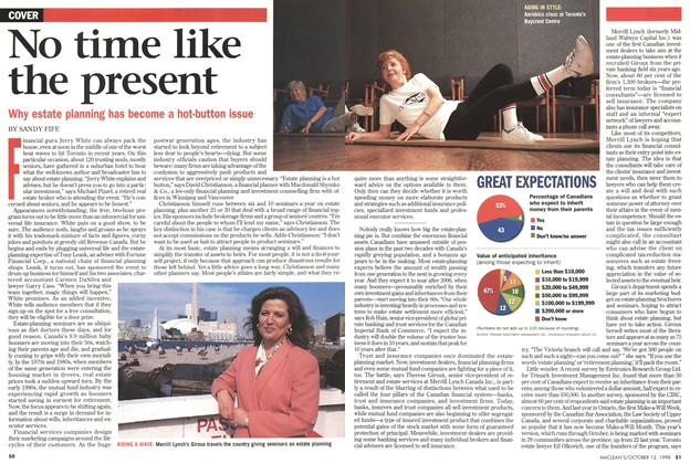 Article Preview: No time like the present, October 1998 | Maclean's