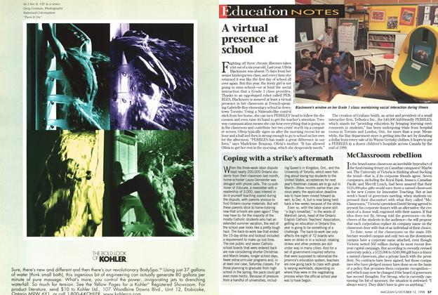 Article Preview: Education NOTES, October 1998 | Maclean's