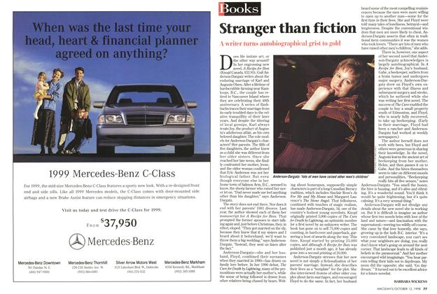 Article Preview: Stranger than fiction, October 1998 | Maclean's