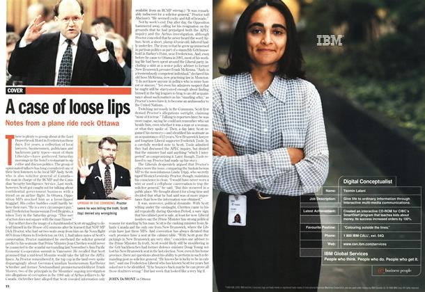 Article Preview: A case of loose lips, October 1998 | Maclean's