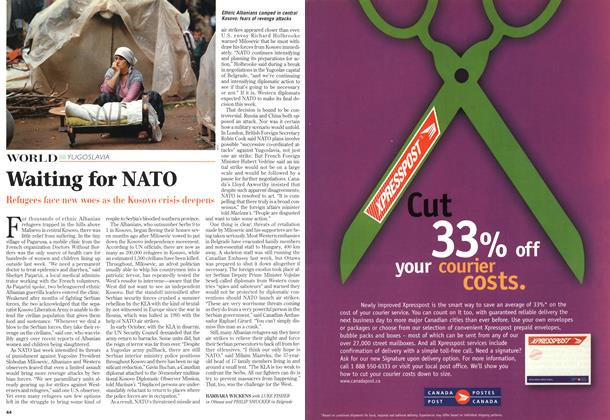 Article Preview: Waiting for NATO, October 1998 | Maclean's