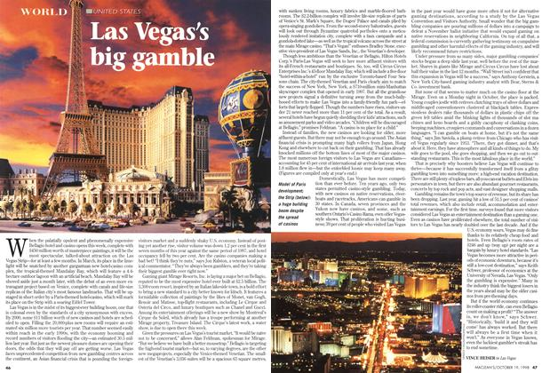 Article Preview: Las Vegas's big gamble, October 1998 | Maclean's