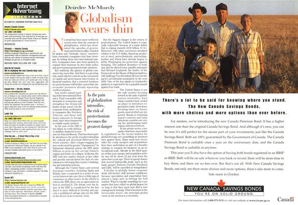Article Preview: Globalism wears thin, October 1998 | Maclean's