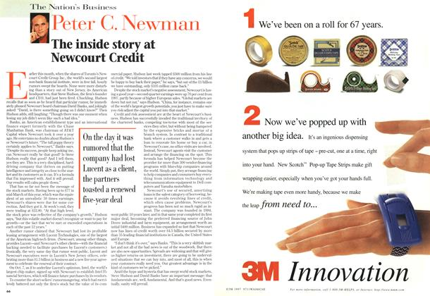 Article Preview: The inside story at Newcourt Credit, October 1998 | Maclean's