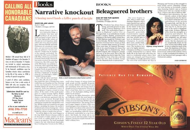 Article Preview: Narrative knockout, October 1998 | Maclean's