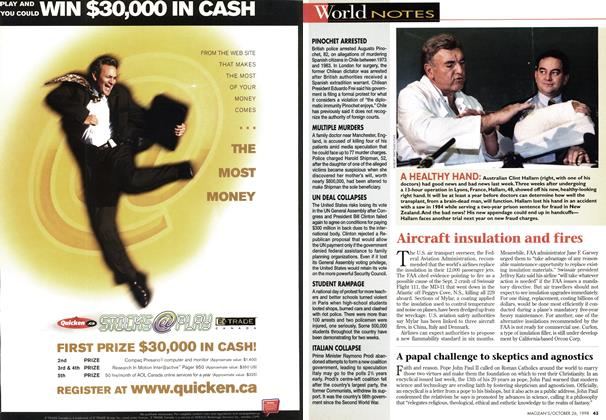 Article Preview: World NOTES, October 1998 | Maclean's
