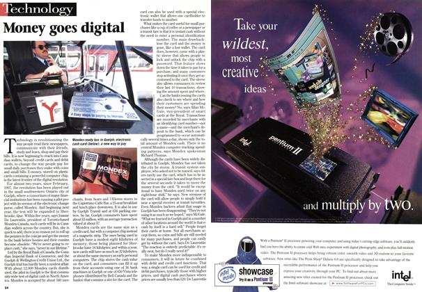 Article Preview: Money goes digital, October 1998 | Maclean's