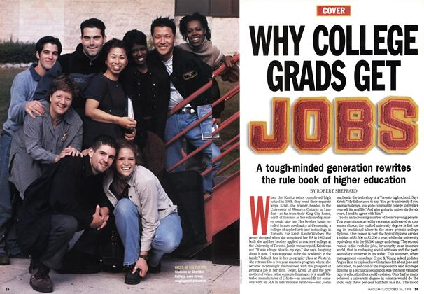 Article Preview: WHY COLLEGE GRADS GET JOBS, October 1998 | Maclean's