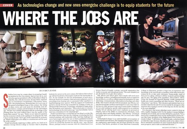 Article Preview: WHERE THE JOBS ARE, October 1998 | Maclean's