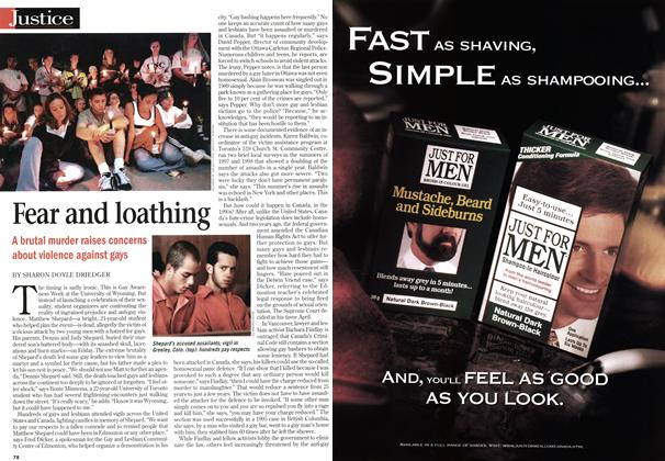Article Preview: Fear and loathing, October 1998 | Maclean's