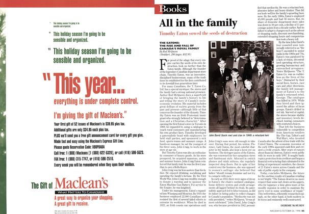 Article Preview: All in the family, October 1998 | Maclean's